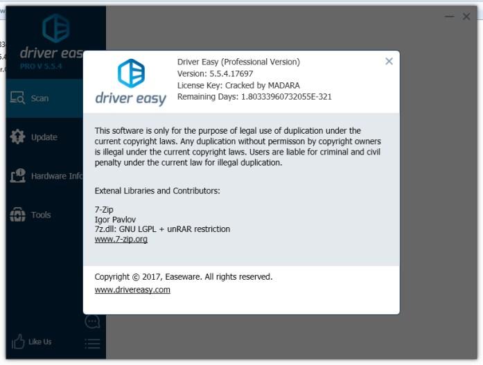 Driver Easy PRO 5.6.12 Crack Full License Key Free Download