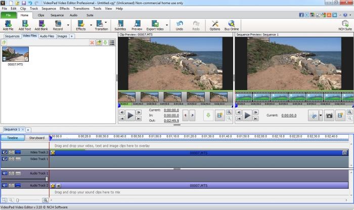 videopad video editor professional with crack